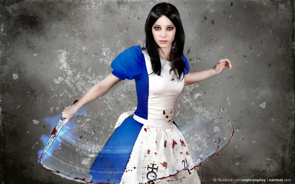 Alice Maddness Returns cosplay - wallpaper