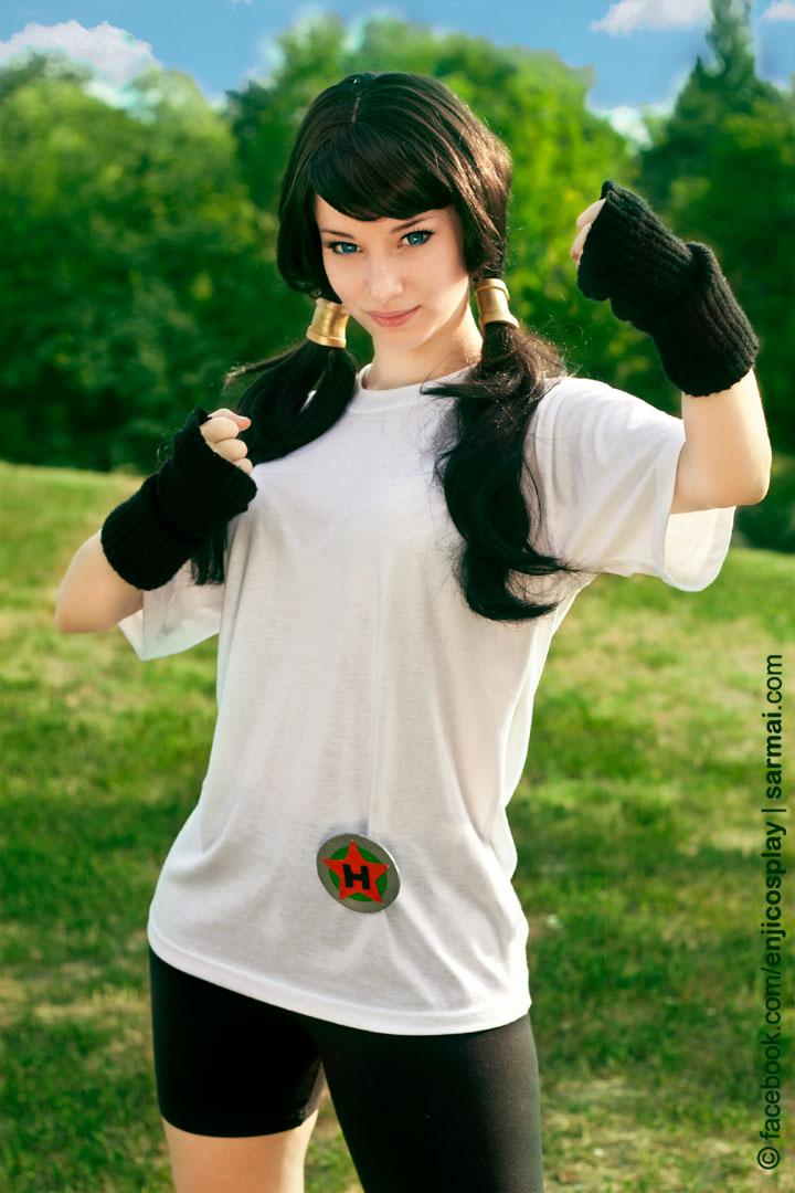 DragonBall- Videl cosplay by EnjiNight