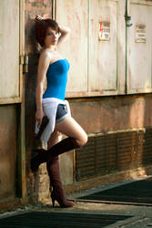 Jill Valentine cosplay I by EnjiNight