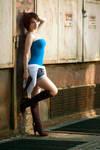 Jill Valentine cosplay I