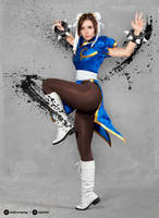 Chun Li cosplay I. by EnjiNight