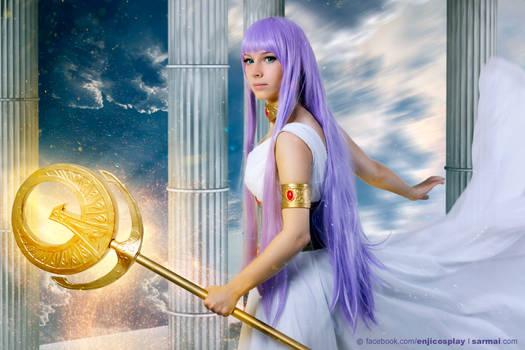 Athena - Saint Seiya cosplay I.