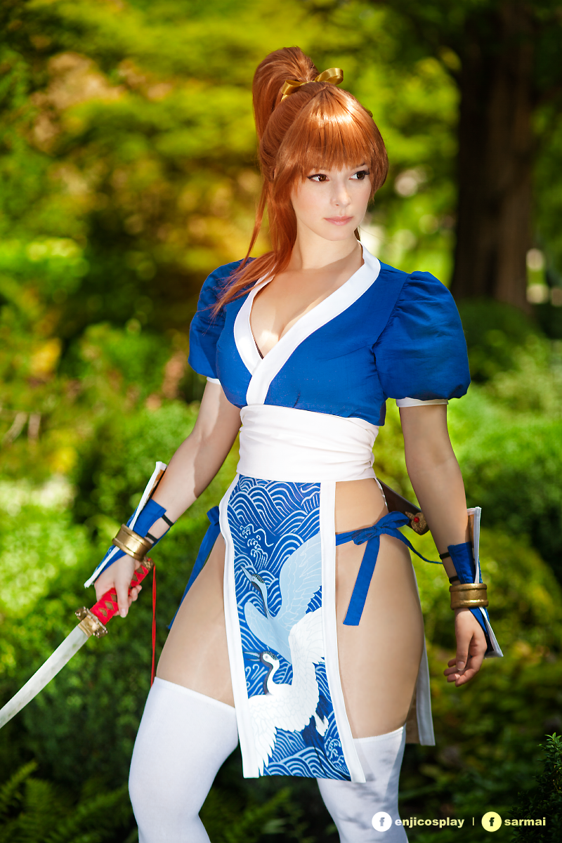 Kasumi - Dead Or Alive cosplay I. by EnjiNight