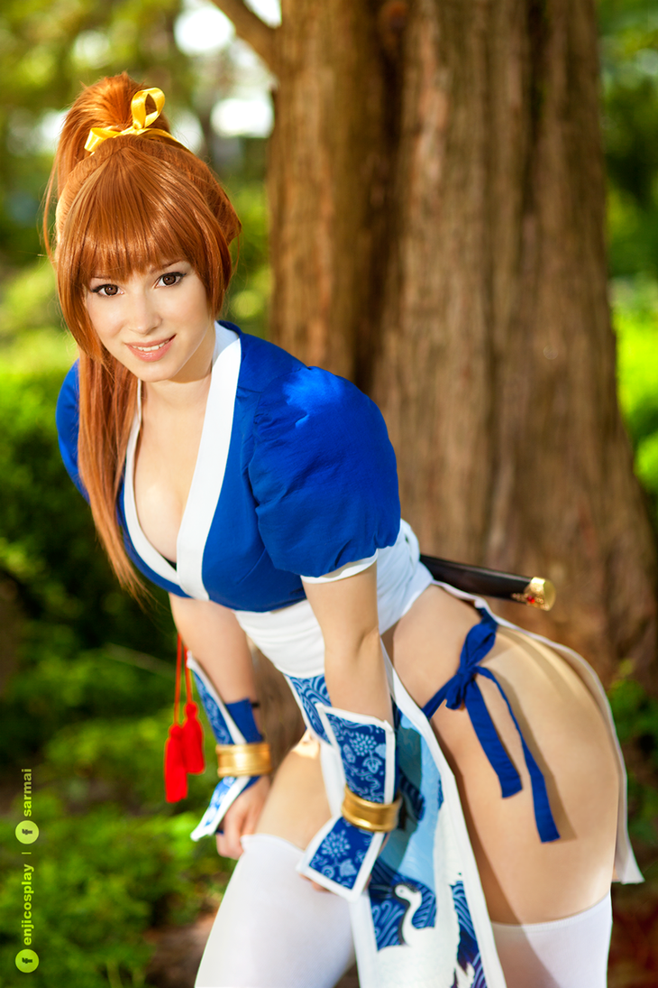 Kasumi - Dead Or Alive cosplay IV. by EnjiNight