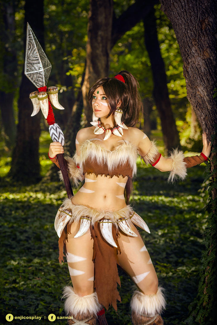 Nidalee - League of Legends cosplay I. by EnjiNight on DeviantArt