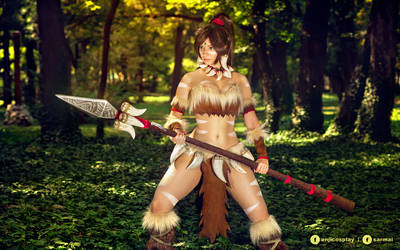 Nidalee - League of Legends cosplay III.