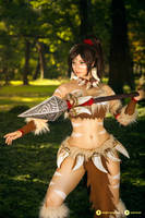 Nidalee - League of Legends cosplay IV.