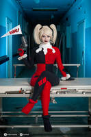 Harley Quinn cosplay II. by EnjiNight