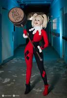 Harley Quinn cosplay V. by EnjiNight