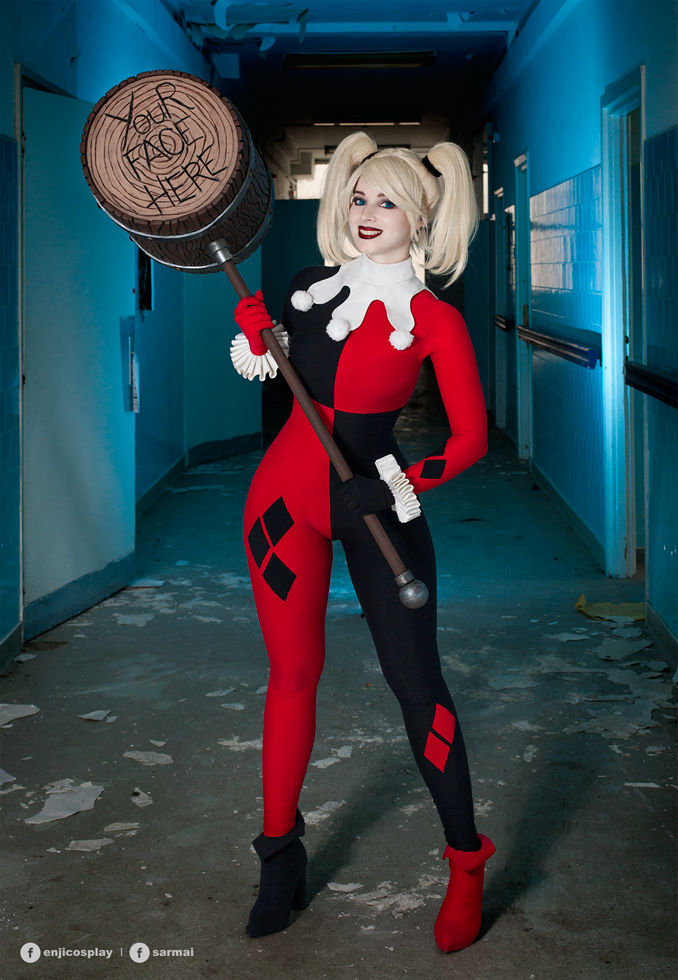 Harley Quinn cosplay V.