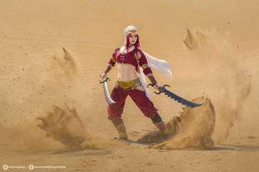 Sandstorm Katarina cosplay - League of Legends I.