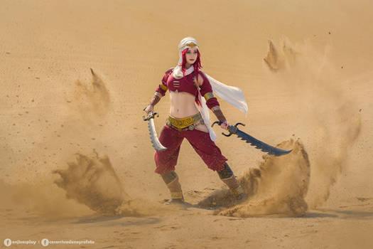 Sandstorm Katarina cosplay - League of Legends I.