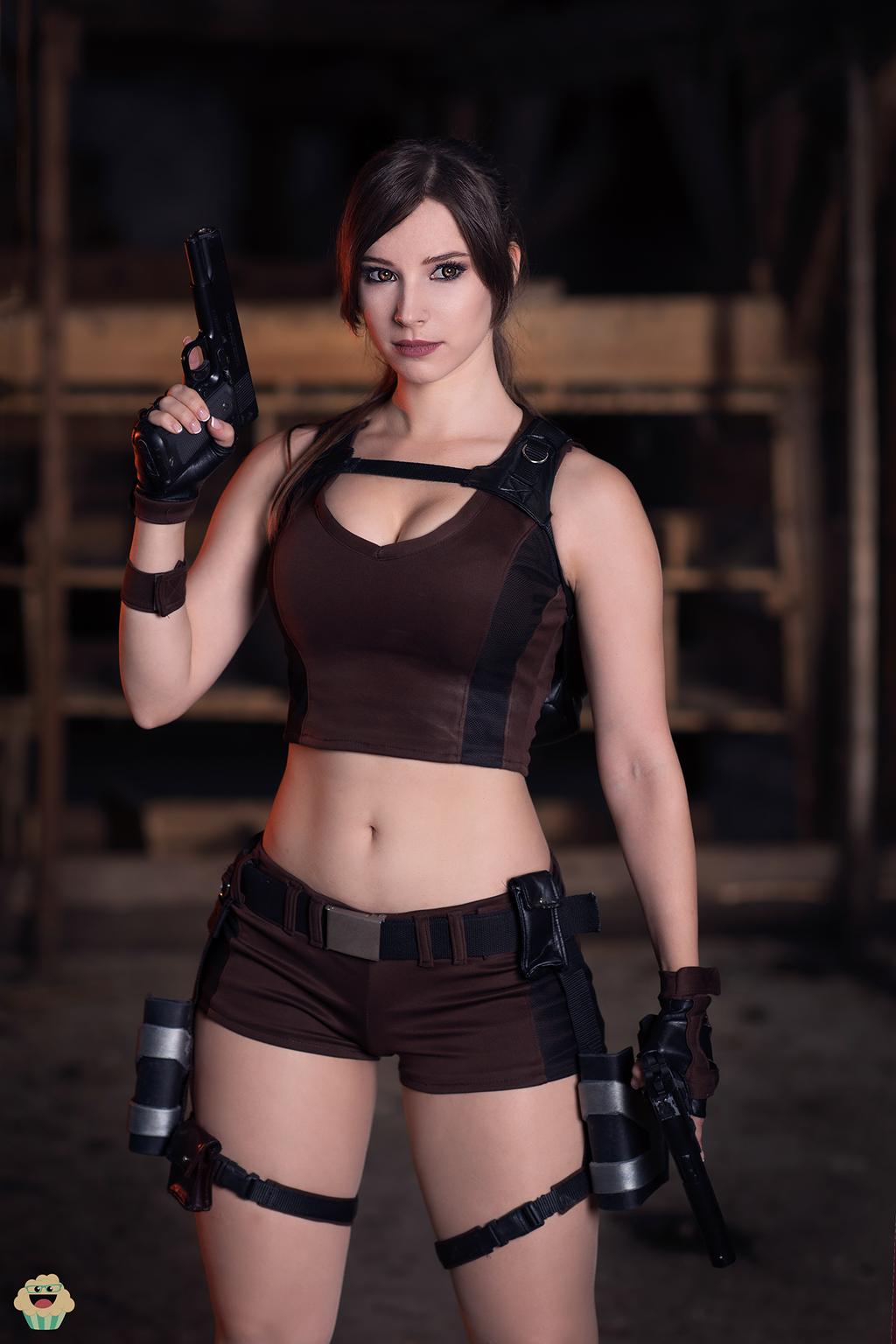 Lara Croft - Tomb Raider cosplay II. by EnjiNight