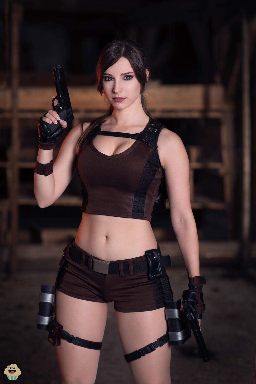 Lara Croft Tomb Raider Cosplay Ii By Enjinight On Deviantart