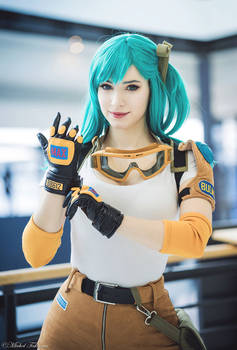 Bulma cosplay - Dragon Ball I.