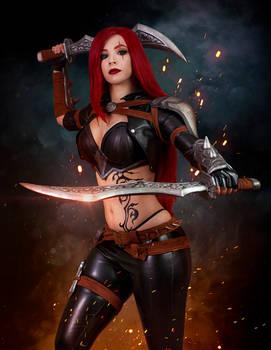 Katarina cosplay - League of Legends I.