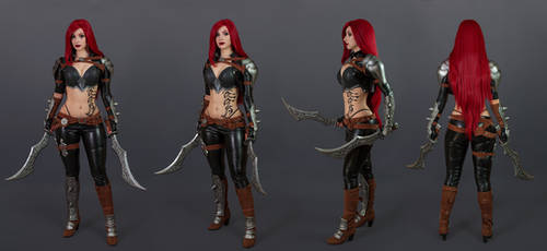 Katarina cosplay concept art- League of Legends I.