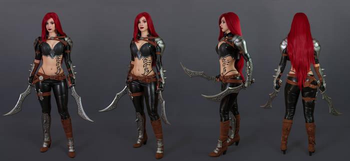 Katarina cosplay concept art- League of Legends I.