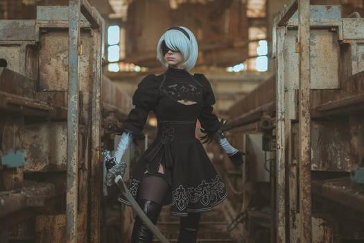 2B cosplay - Nier Automata