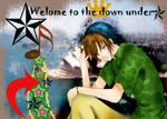 Down Under : gift art: by Cecilio-Grey