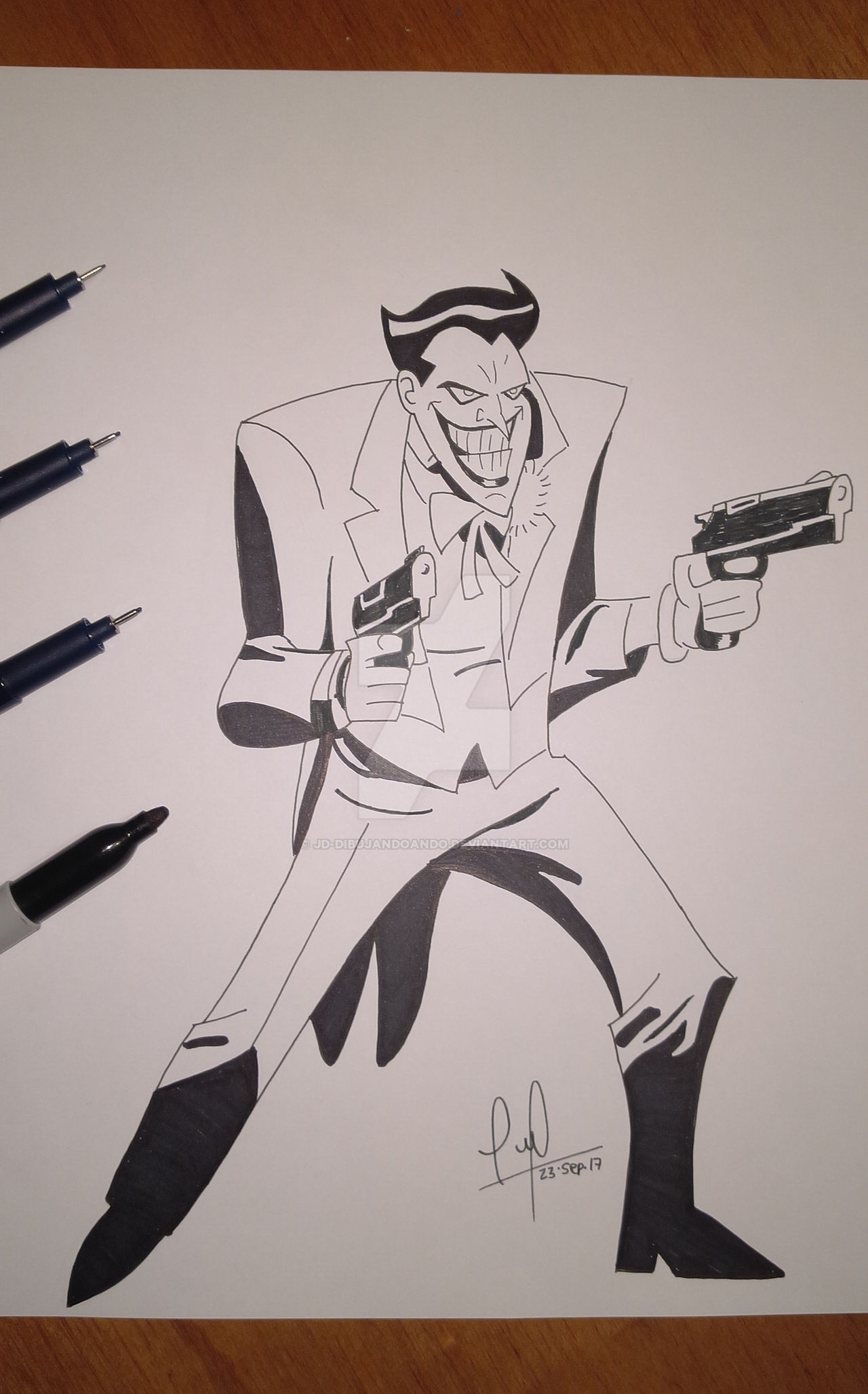 The Joker From Batman The Animated Series By Jd