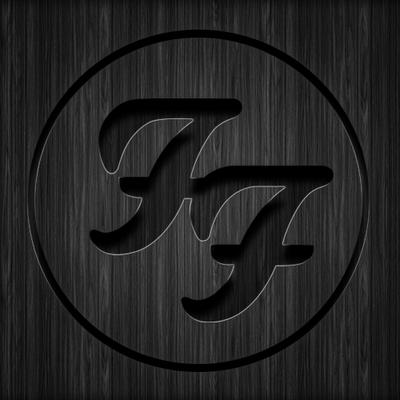 foo fighters wooden logo by tomplumpton on deviantart