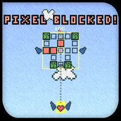 Pixel Blocked! by creidiki