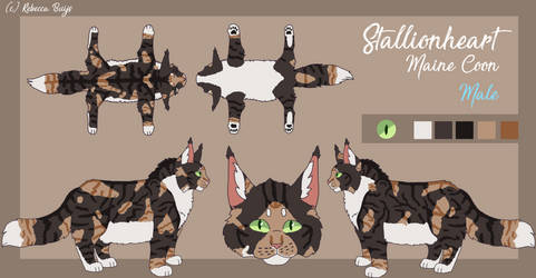 Reference sheet Stallionheart