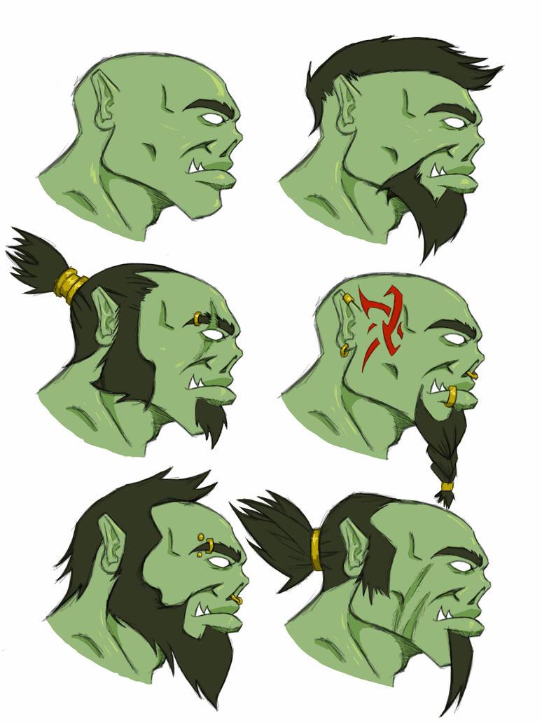 Concept orcs by HameshTheViking