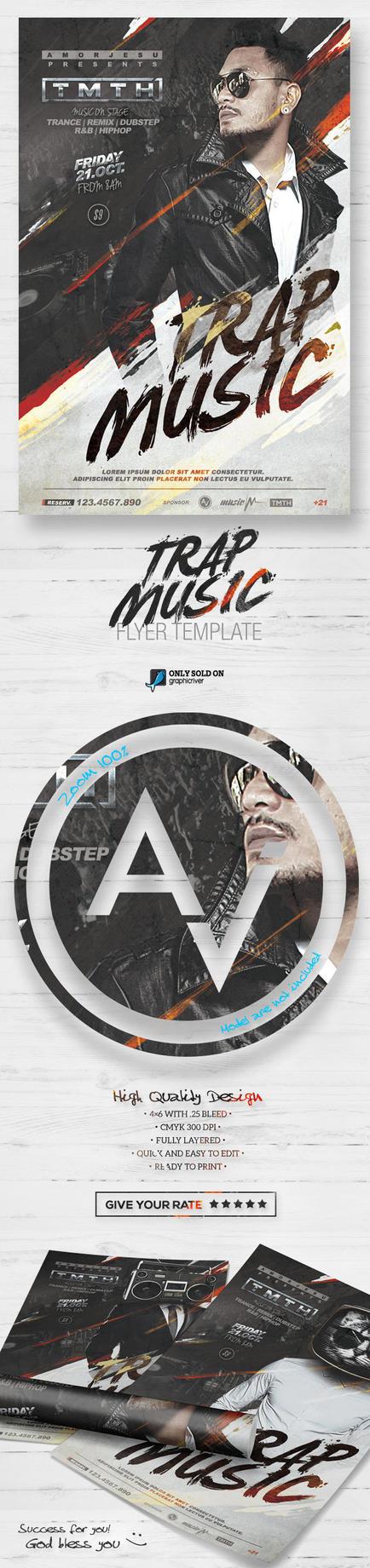 DJ Guest Flyer Template V2 by amorjesu