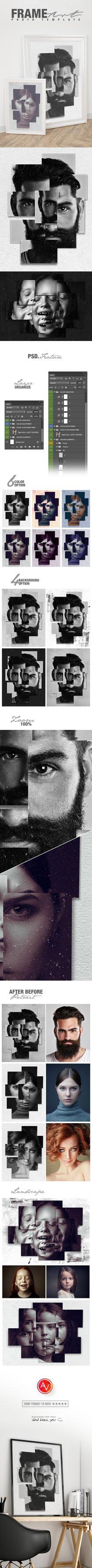 Frame Art Photo Template by amorjesu