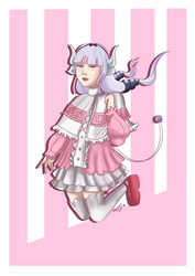 Kanna Commission by InquisitorCat