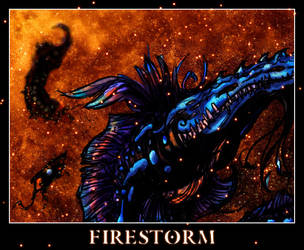 controlled burn - firestorm by Coronaviridae