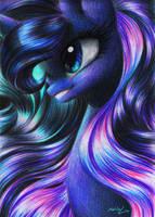 Luna Portrait by Queen-KittyKat