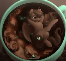 Cosmic Latte by Queen-KittyKat