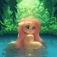 Bathing by Queen-KittyKat