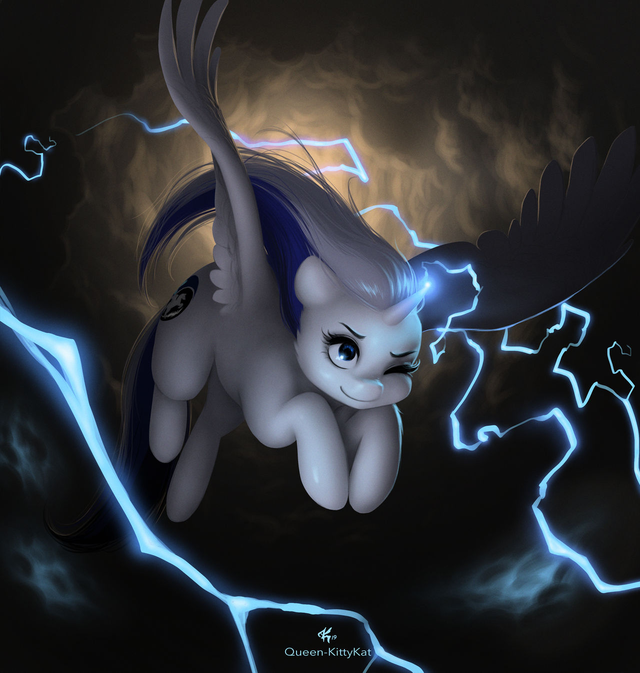Thunder Storm by Queen-KittyKat