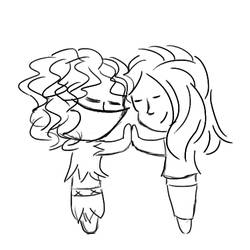 Tearle and Lisys - Chibi