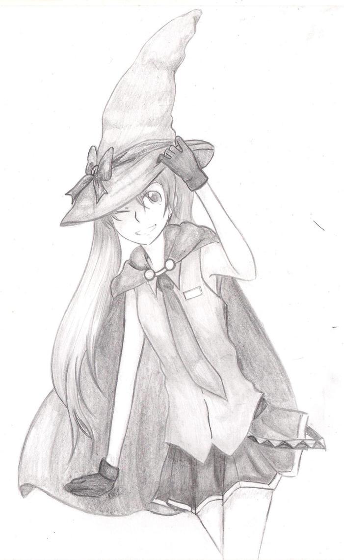 Vocaloid: Hatsune Miku Witch by KotonohaXMakoto