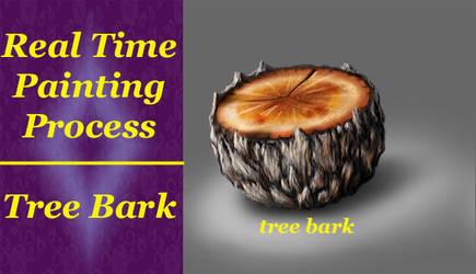 Material Study 02 Tree Bark by ewmh1