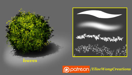 MS - Leaves (Brush Set)