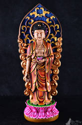Buddha Statue Painting