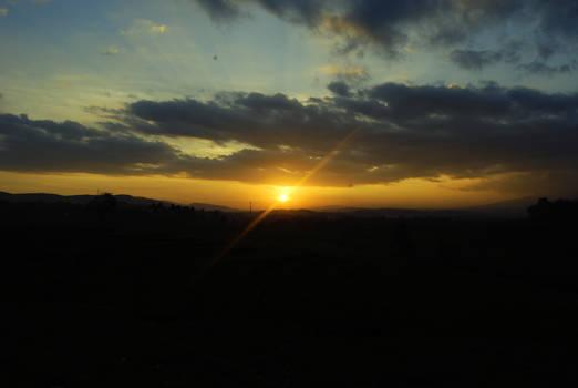 Sunset at the Broken Mount