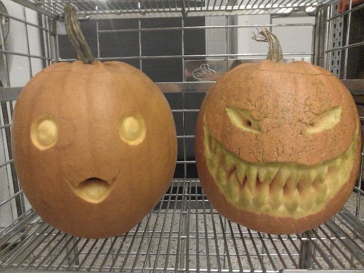Halloween pumpkins by mangaanime