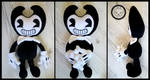 + Fanart: Bendy and the Ink Machine + by LionCubCreations