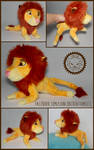 + Commission: Adult Simba + by LionCubCreations
