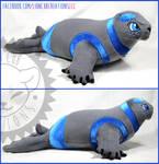 + Commission: Kleur the seal +