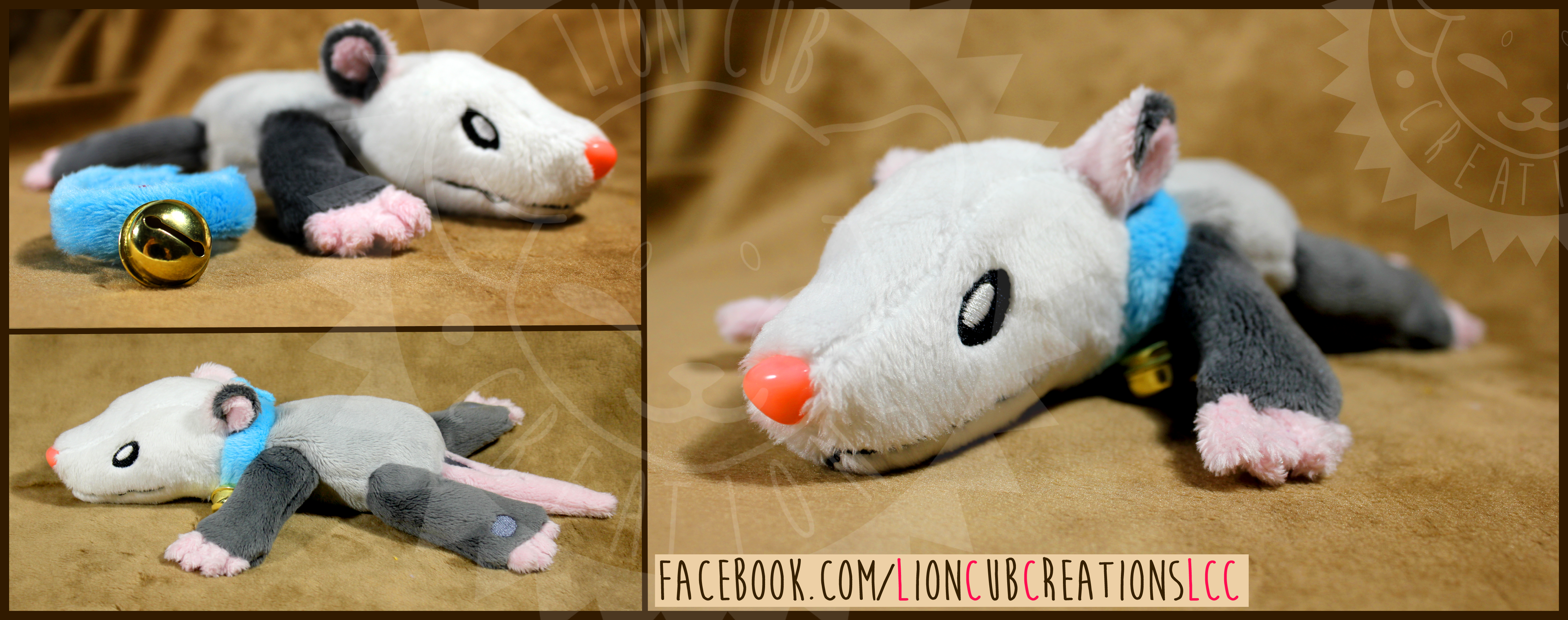 + Commission: Olly the Possum +