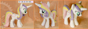 + Plush Commission: Pony Unicorn OC + by LionCubCreations