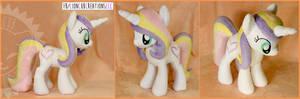 + Plush Commission: Pony Unicorn OC +